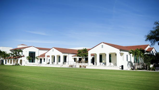 Palm Beach's new Morton and Barbara Mandel Recreation Center at 340 Seaview Ave. will serve as a new polling place in Tuesday's Democratic and Republican primary elections.