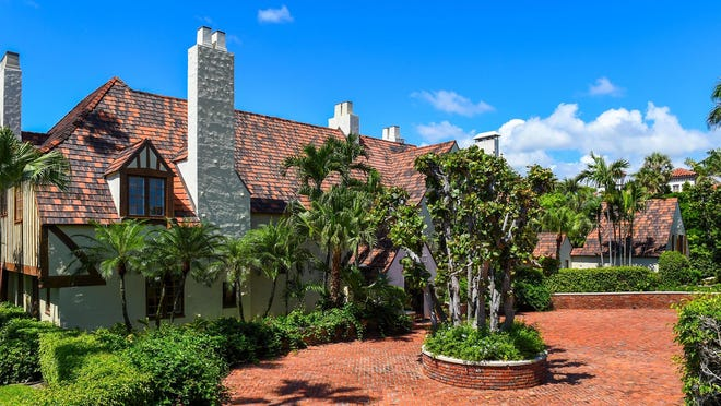 The estate of the late Martin L. Berman just sold this Tudor-style residence built in 1926 at 130 Banyan Road in Palm Beach's Estate Section for a recorded $11.1 million.
