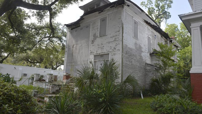 Kiah House Museum at 505 W. 36th St. as it stands today. A GoFundMe page has been established to raise money to buy a historical marker.