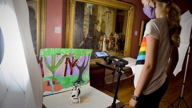 Summer art classes are open at Freeport Art Museum.