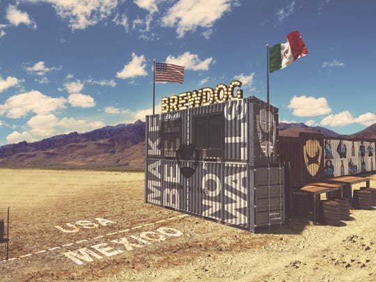 Scottish brewery BrewDog said it intends to build a