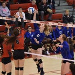 Ladywood volleyball scorches Clarenceville to move on to Class B semis
