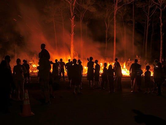 This year's Fire Fest at Jonathan Dickinson State Park