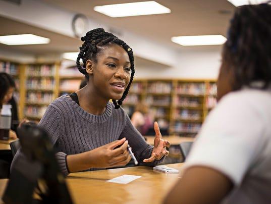 Black Iowa: Graduation is up - black iowa TaJohnie Milton - North High