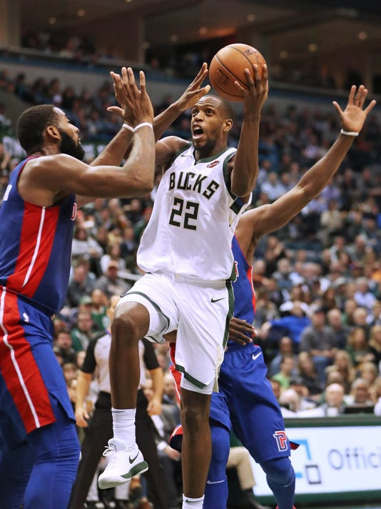 0ee741a2a36 Bucks 99, Pistons 95: Milwaukee wins fourth consecutive game in ...