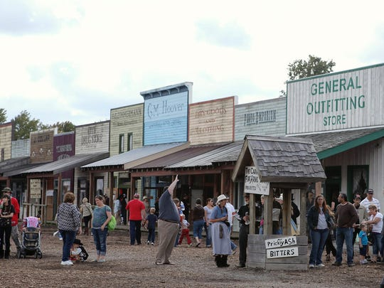 Old West Festival in Williamsburg.