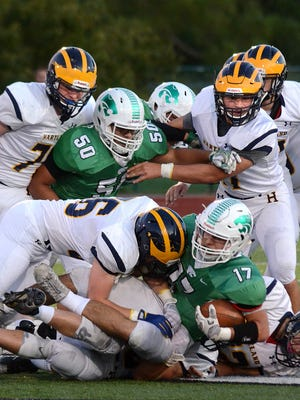 Hartland hopes to get back to the state football playoffs after going 4-5 and missing out for the second straight year.