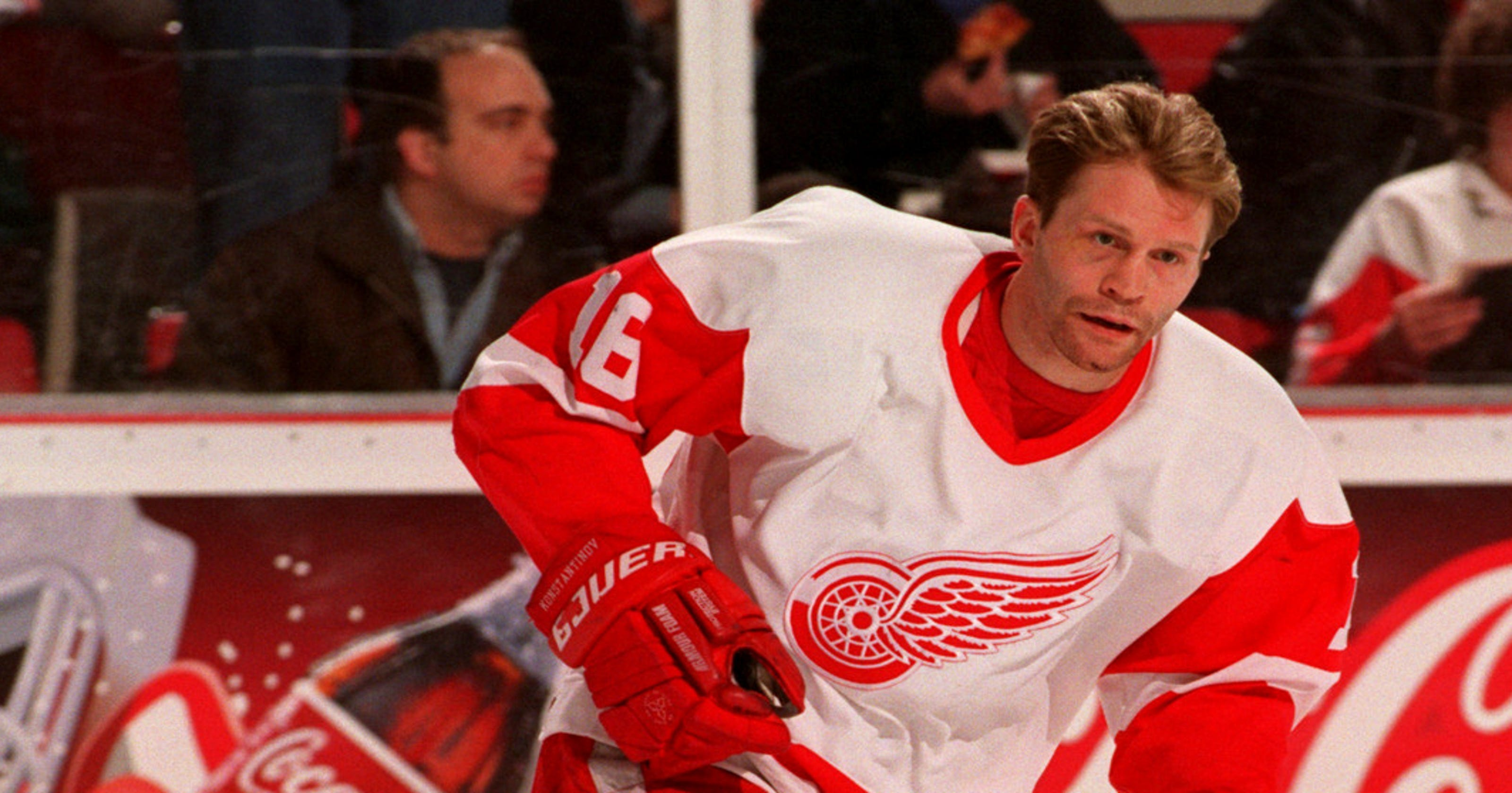 Russian Five  How Konstantinov faked cancer to join Detroit Red Wings fd7dc3137
