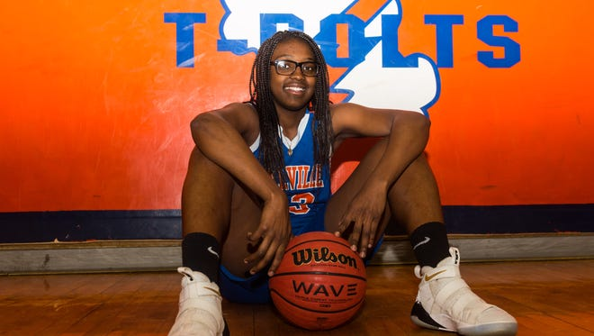 Millville senior Alexis Harrison is the 2017-18 Daily Journal Girls' Basketball Player of the Year.