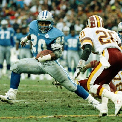 Barry Sanders is one of the game's greats who retired