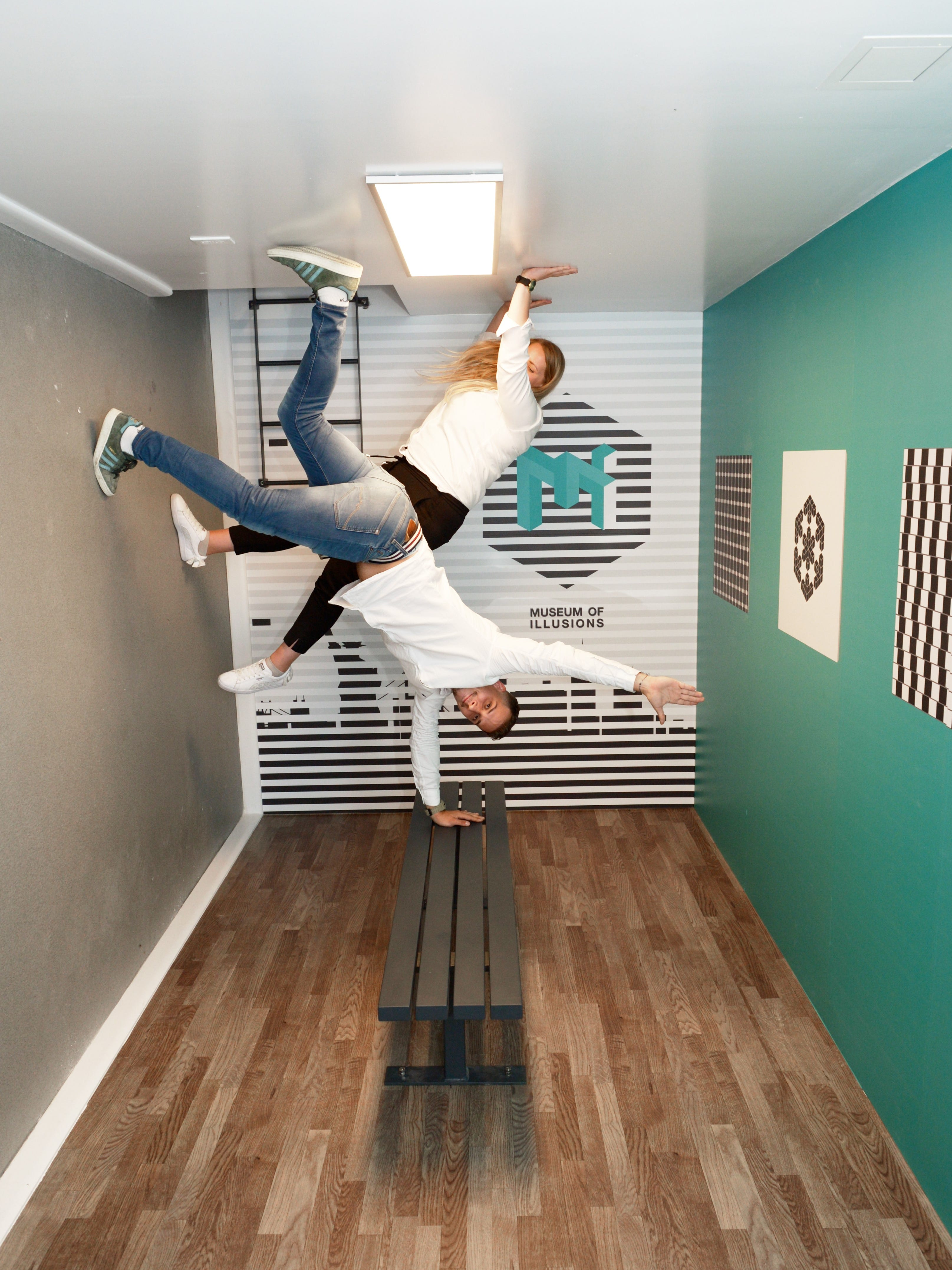 Family Friendly Museum Of Illusions Opens In New York City