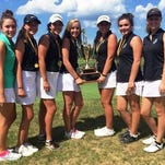 The Novi girls golf team successfully defended its Lober Classic title last week in Traverse City.
