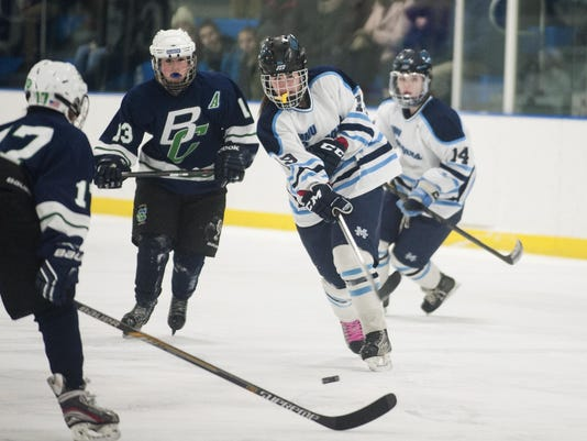 Burlington/Colchester vs. MMU Girls Hockey 02/24/15