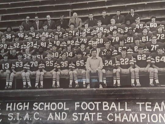 Reitz Panthers 1971 team photo.
