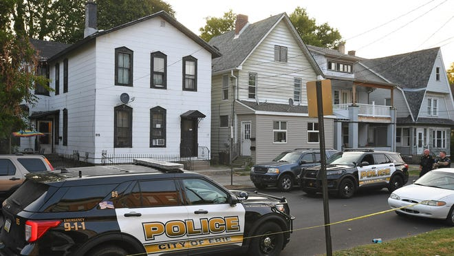 Erie police have charged two people in the fatal shooting at a party at 815 Walnut St. on Sept. 27.