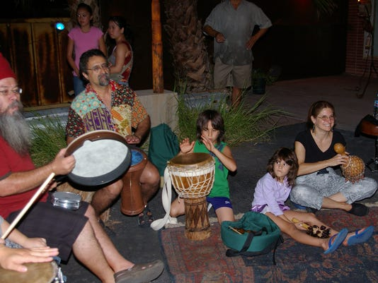First Friday Drum Circle