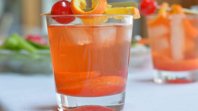 A brandy Old-Fashioned is a required element of a proper supper club dinner.