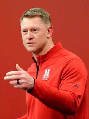 Nebraska football coach Scott Frost