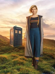 """New """"Doctor Who"""" star Jodie Whittaker makes her Comic-Con"""