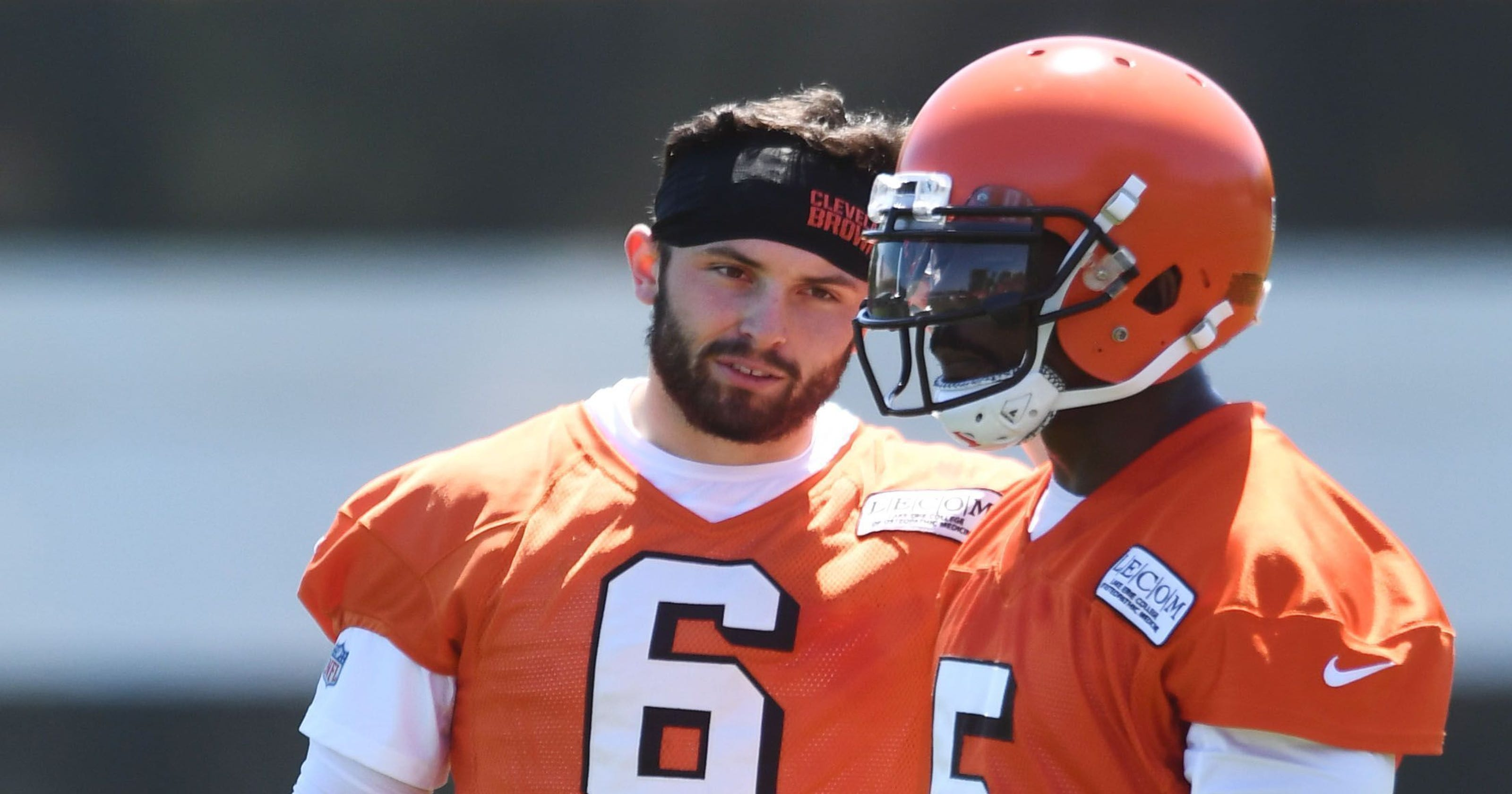 Browns training camp questions  Will Baker Mayfield make a play for starting  QB role  dc5b5b8bf