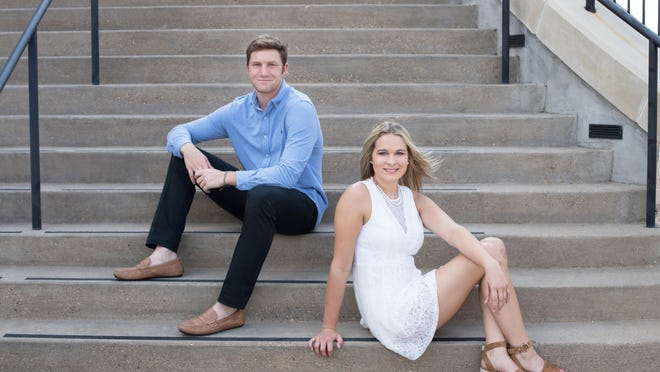 Davis Shackelford and Jaqlyn Evans, Mr. and Miss Glen Rose High School for 2019-20.