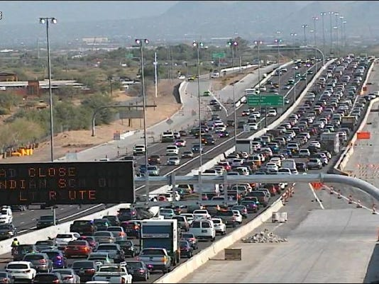 Loop 101 crash near Scottsdale