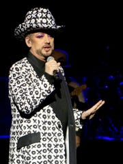 Boy George and Culture Club perform at Tuacahn Amphitheatre in Ivins City