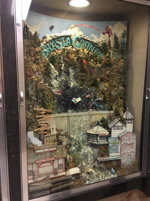 Shasta County is working on updating its display at the state Capitol in Sacramento.