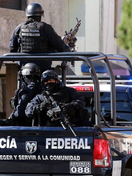 violencia Policía México PFP