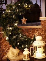 A Crescent Moon Tree made by Suzanne Jaber of Dearborn