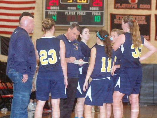 Saddle Brook girls basketball