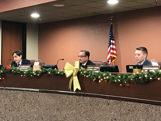 El Paso County commissioners Monday voted down a proposal