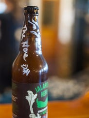 Bowser Brewing bottles Jalapeno Hefe
