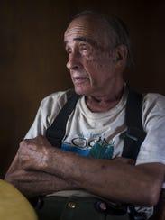 Kenneth Breitenstein, 81, remembers the days woodland