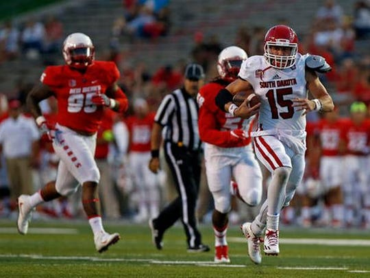 USD quarterback Chris Streveler will be a focal point of the Coyotes' attack vs. Weber State.