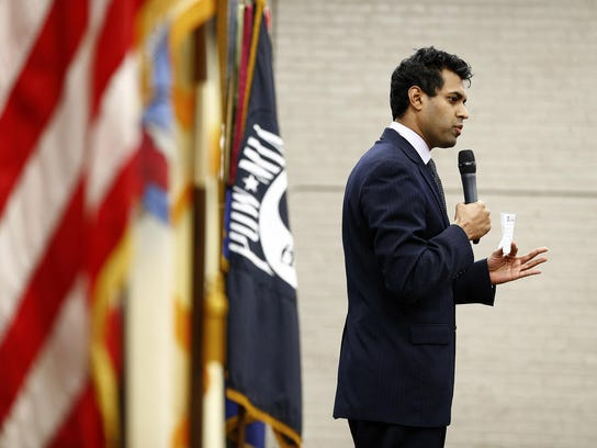Newly elected State Sen. Vin Gopal, D-Monmouth, said