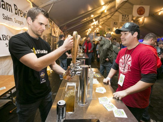 Salem Winter Brewfest will feature live music, local brews, ciders and food in a giant heated tent directly across from the Oregon State Capitol Building 4 to 10 p.m. Jan. 31 and Feb. 1, 4 to 11 p.m. Feb. 2 and 11 a.m. to 11 p.m. Feb. 3. Free Wednesday, $5 Thursday, $15 Friday or Saturday; $25 all weekend pass.