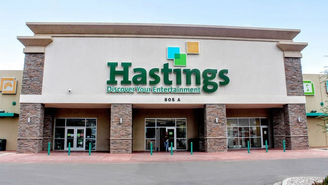 Hastings Entertainment Inc., 805 N White Sands Blvd. will be liquidated by Oct. 31 at the latest. All Hastings stores will be closed down.