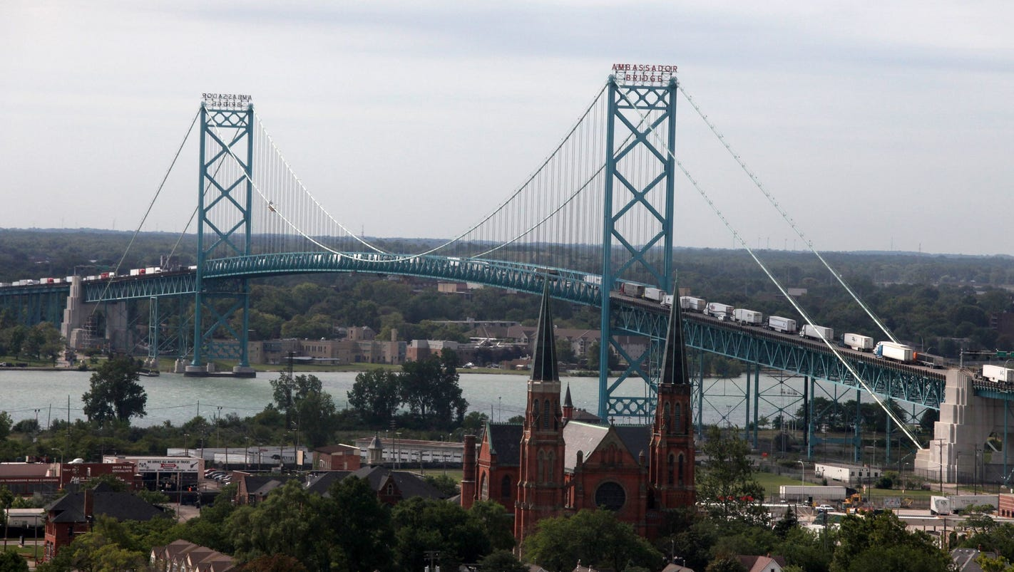 New Detroit bridge decision won't be reconsidered by appeals court