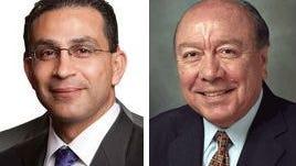 """State Rep. Abel Herrero and Sen. Juan """"Chuy"""" Hinojosa"""