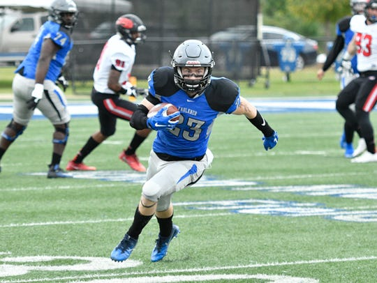 Faulkner finished 7-3, placing second in the Mid-South Conference's Sun Division last season.