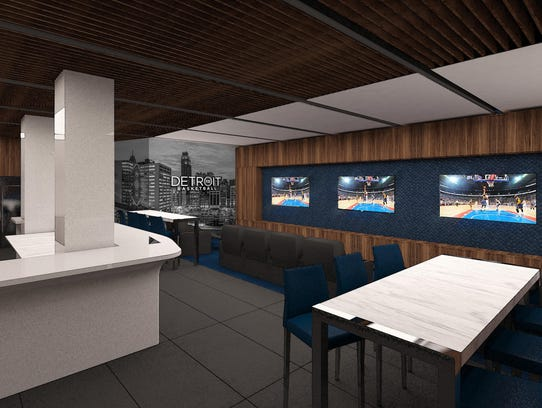 Pistons New Lca Locker Room One Of Nba S Largest