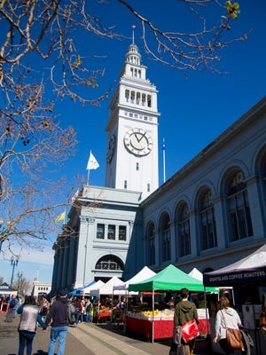 The Ferry Building Marketplace is a home to community farmers, artisan producers and food businesses.