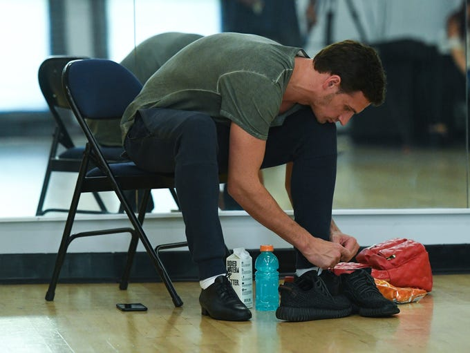 "Ryan Lochte prepares for his fourth week on ""Dancing"