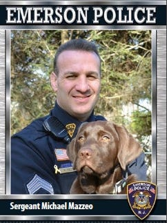 Capt. Michael Mazzeo was promoted to Emerson police chief.