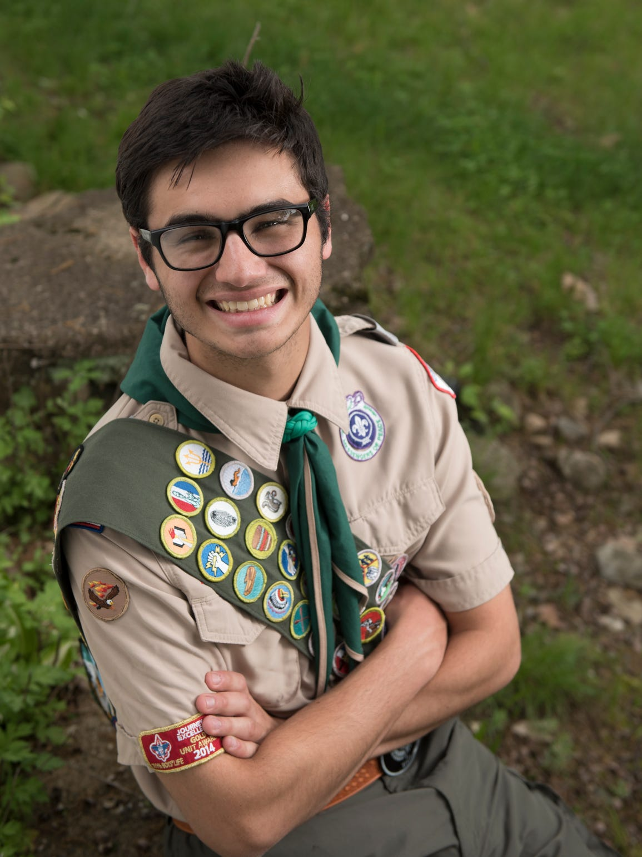 Park Ridge Historical Trail: Eagle Scout Daniel Tallman's