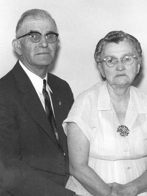 Howard and Myra Herrick. The Herricks were killed in September of 1955 in a barn on their farm.