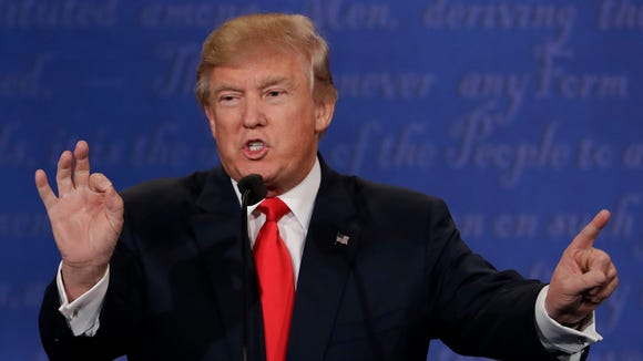 Republican presidential nominee Donald Trump declined