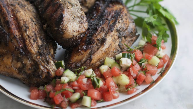 Grilled jerk chicken is on the menu for Thursday's Safe Plates dinner to raise money for groups that work for racial justice.