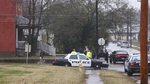 Police say they are searching for a suspect in west-central Springfield.